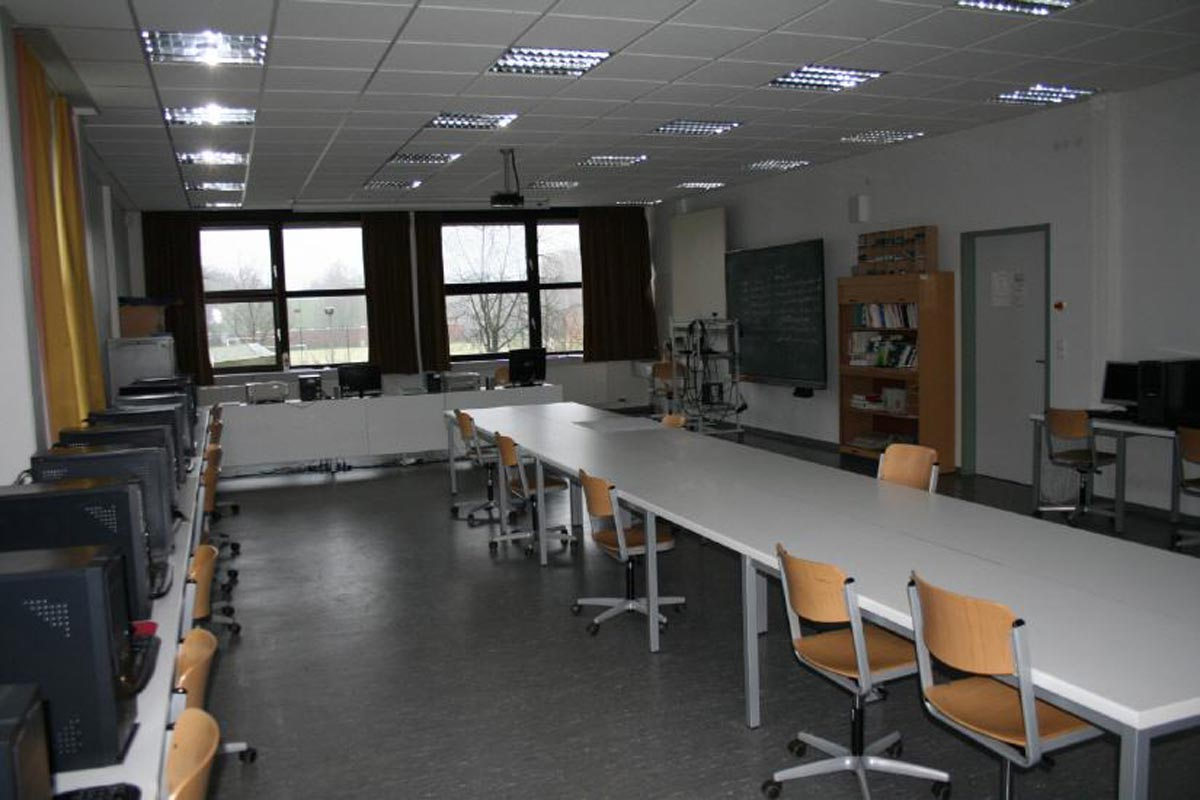 Computer II - Gebäude C - 22 Plätze