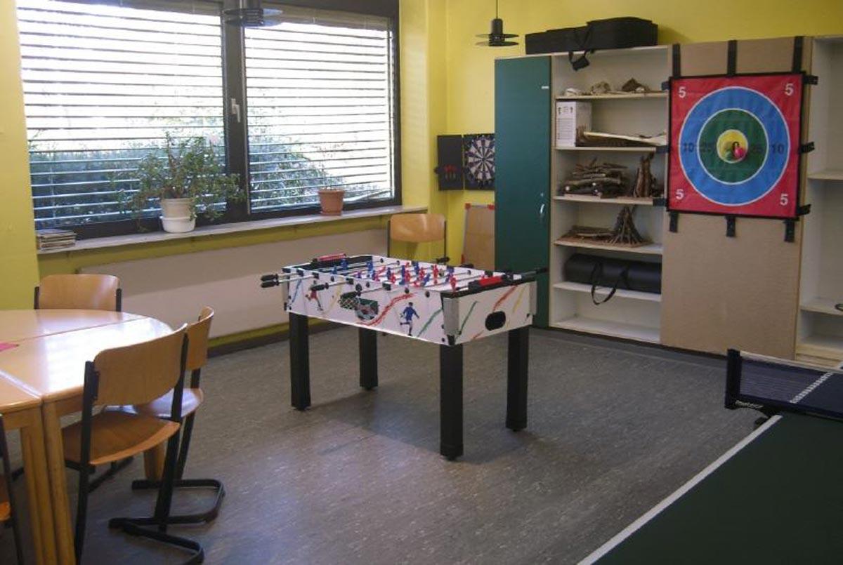 Aktivraum (Tischtennis, Dartspiele, etc.)